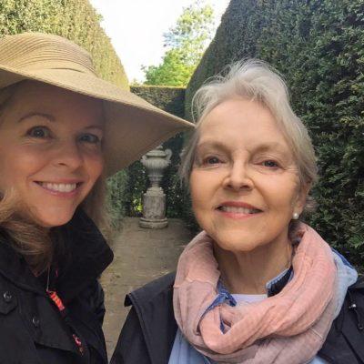 Marilyn Bamford (MY MOM) and me- Sarah Seidelmann
