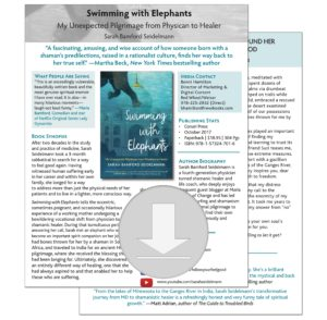 Download 'Swimming with Elephants' Press Sheet PDF