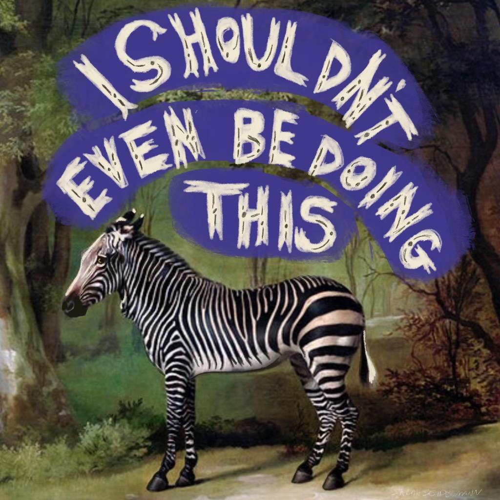 Art by Sarah Seidelmann 100 day project Self Help Satire
