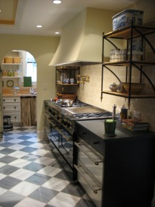 My (former) dreamy kitchen with Spanish Marble Floor....