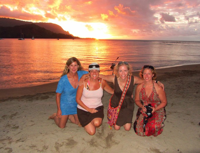 "We invite you to join us for six nights and seven days in Hanalei for a total immersion in Nature, an introduction to Shamanism (an Ancient ""way"" of living in right relationship with the Natural world)."