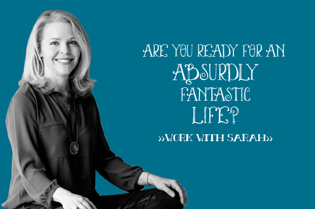 Are you ready for an absurdly fantastic life? Work with Sarah Seidellman...